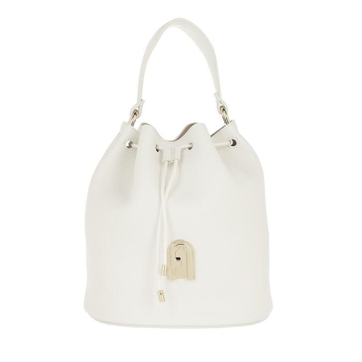Handtasche, Furla, Sleek Small Drawstring Bag Talco