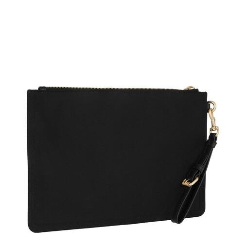 Moschino Clutches & Sacs de Soirée, Logo Clutch en black - pour dames