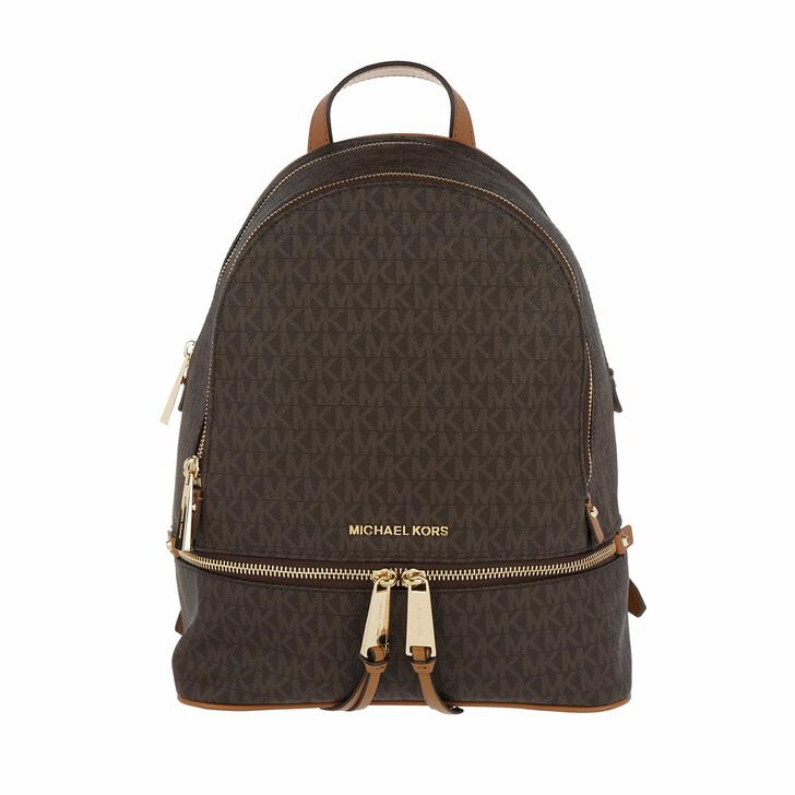 bags, MICHAEL Michael Kors, Medium Backpack Brown