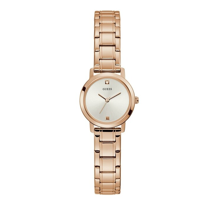 Uhr, Guess, Ladies Dress Stainless Steel Watch Rose Gold Tone