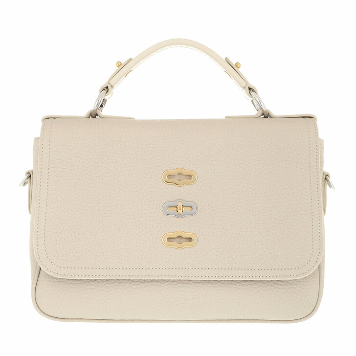 bags, Mulberry, Flap Handle Bag Beige