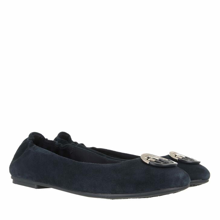 Schuh, Tommy Hilfiger, Essential Hardware Ballerinas Desert Sky