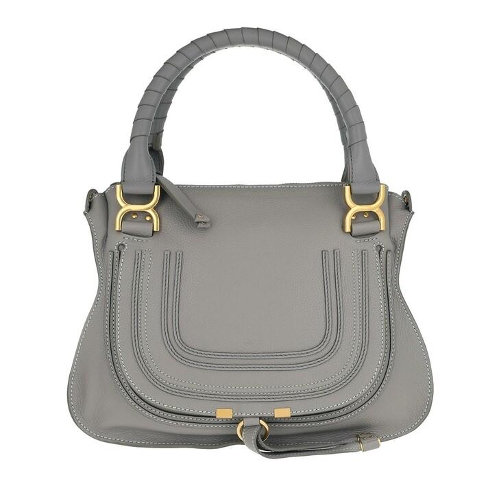 Handtasche, Chloé, Marcie Medium Shoulder Bag Cashmere Grey