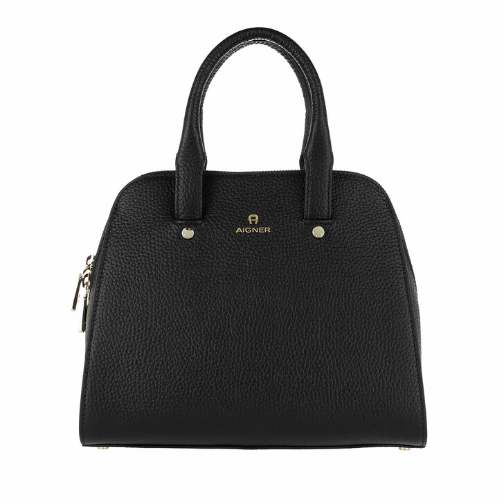 Handtasche, AIGNER, Ivy Mini Bag Black