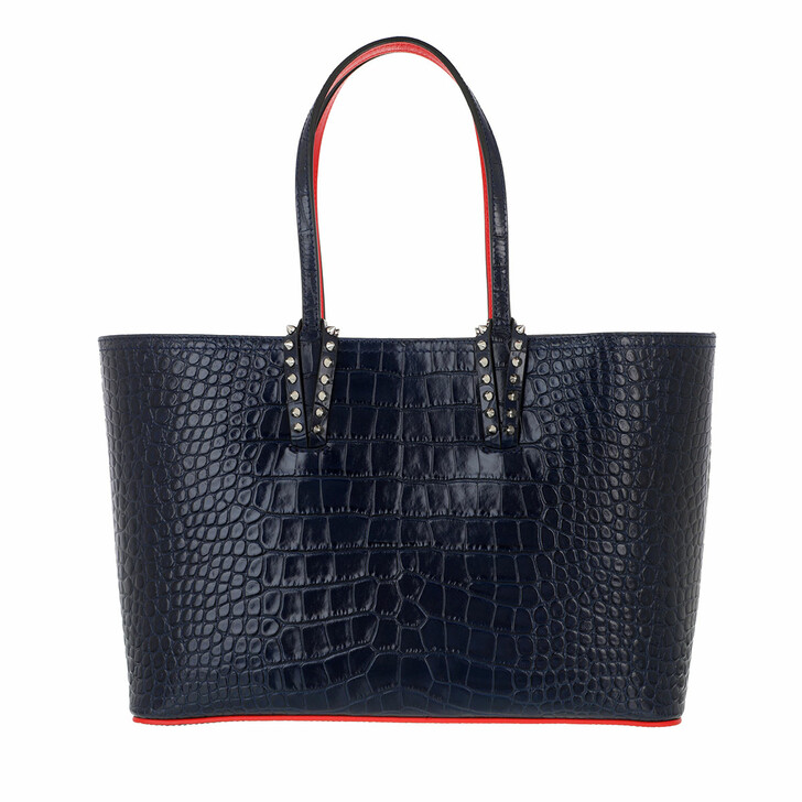 Handtasche, Christian Louboutin, Cabata Small Tote Bag Calfskin Nocturne