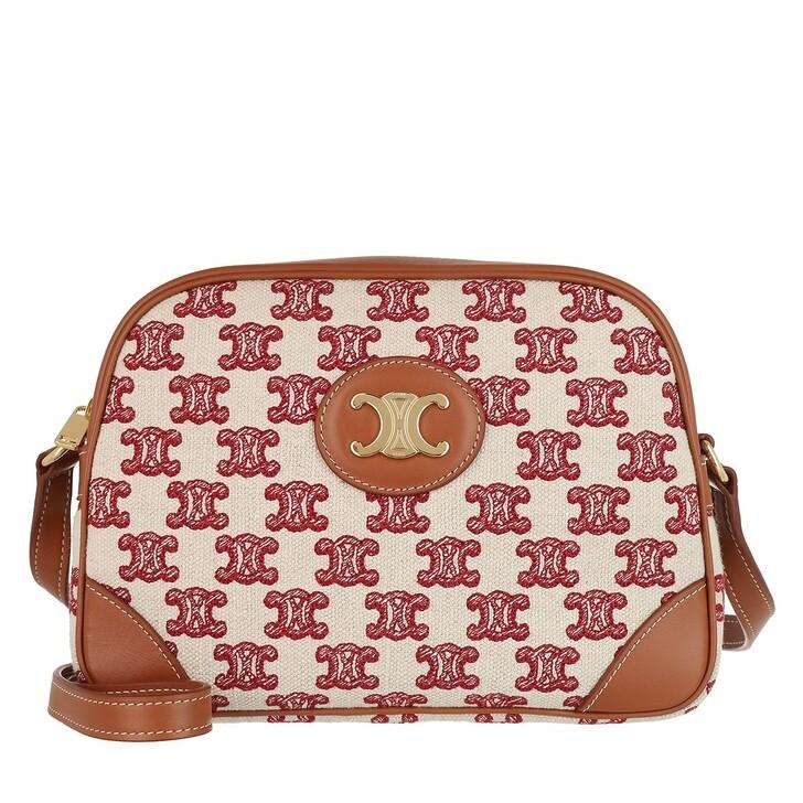 Handtasche, Celine, Camera Crossbody Bag Fox Red