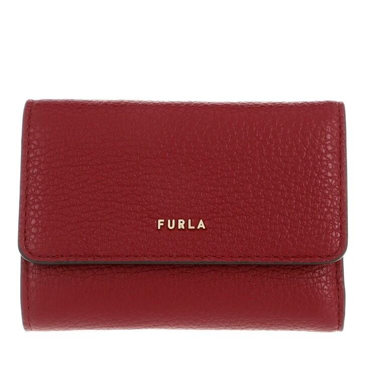 Geldbörse, Furla, Furla Babylon S Compact Wallet Ciliegia