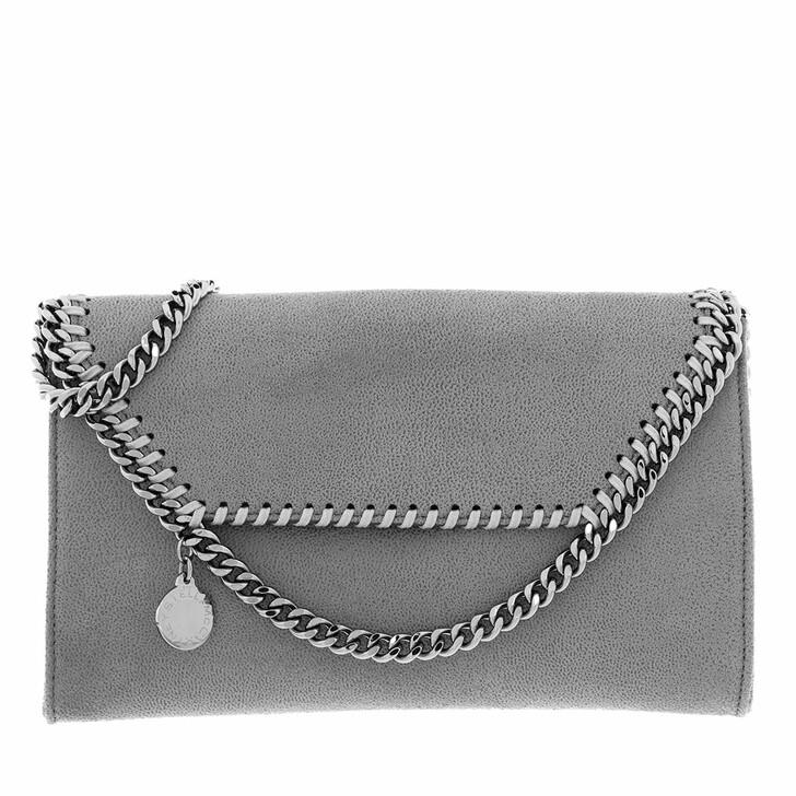 Handtasche, Stella McCartney, Falabella Mini Crossbody Bag Light Grey