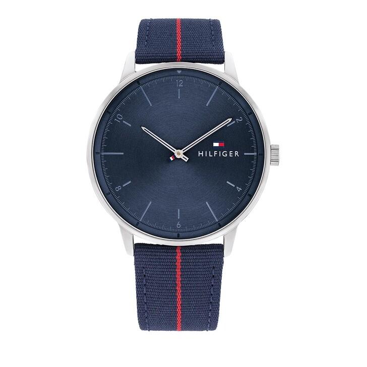 watches, Tommy Hilfiger, Quarz Watch Blue Red