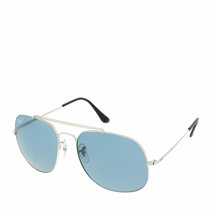 Sonnenbrille, Ray-Ban, 0RB3561 003/52 Man Sunglasses Icons Silver