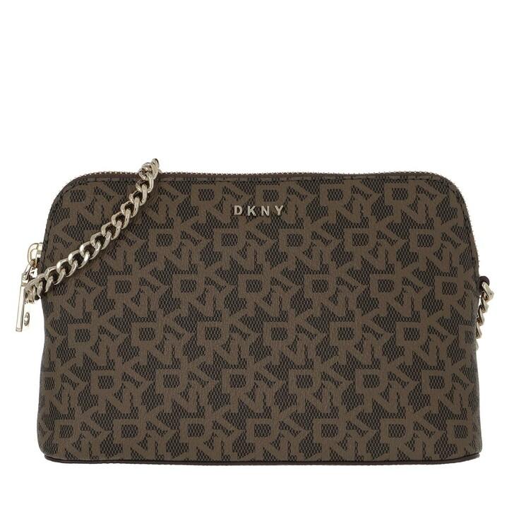 bags, DKNY, Bryant Dome Crossbody Lo Mocha/Crml