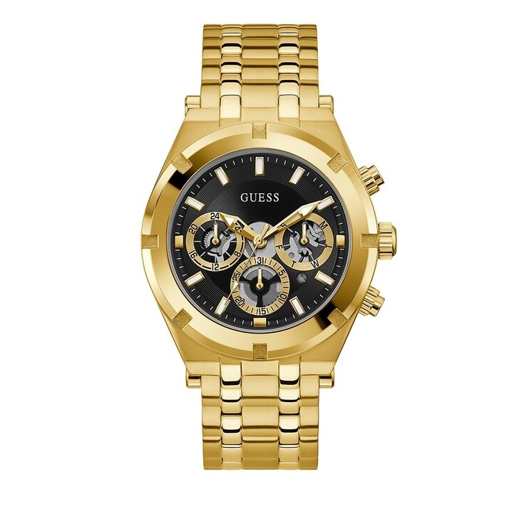 Uhr, Guess, MENS SPORT WATCH Gold Tone
