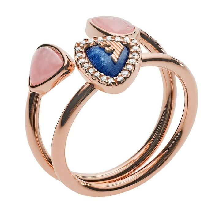 Ring, Emporio Armani, Ring Set EG3446221 Rose Gold