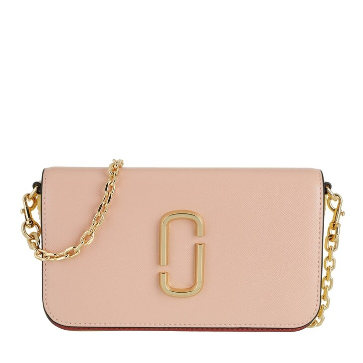 Handtasche, Marc Jacobs, Snapshot Crossbody Bag With Chain New Rose/Multi