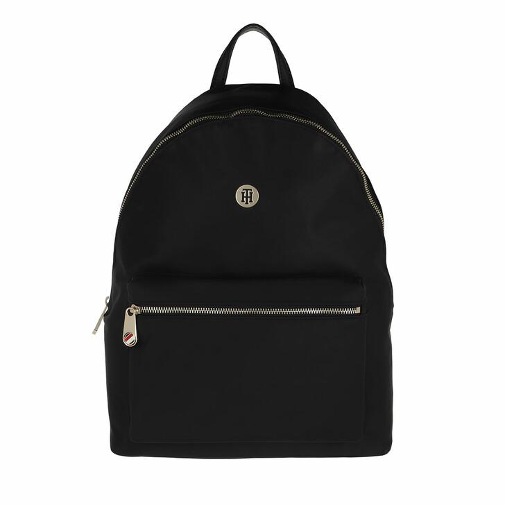 bags, Tommy Hilfiger, Poppy Backpack Black