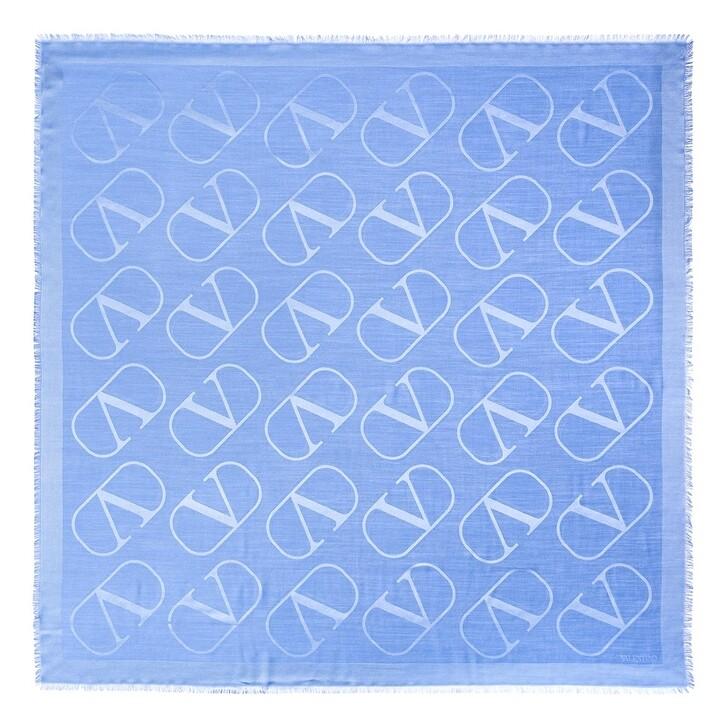 scarves, Valentino Garavani, V Logo Scarf Multicolor