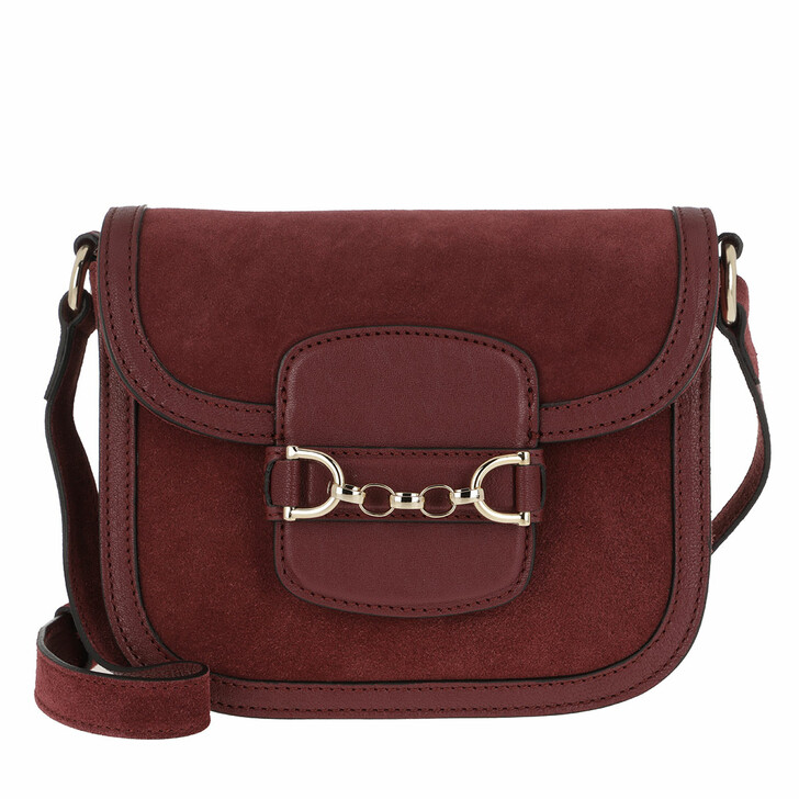 Handtasche, Abro, Diana Crossboy Bag Small Bordeaux