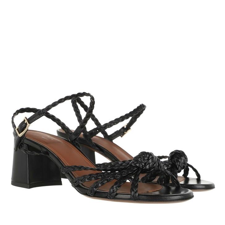 Schuh, L´Autre Chose, Heel Sandals Lamb Leather Black
