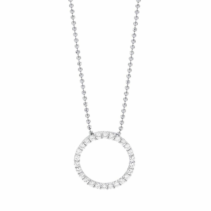 necklaces, Sif Jakobs Jewellery, Biella Pendant And Chain 45 cm Sterling Silver 925