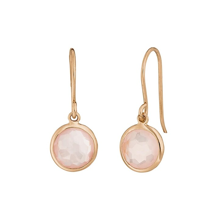 Ohrring, Leaf, Earring 14K Rose Gold