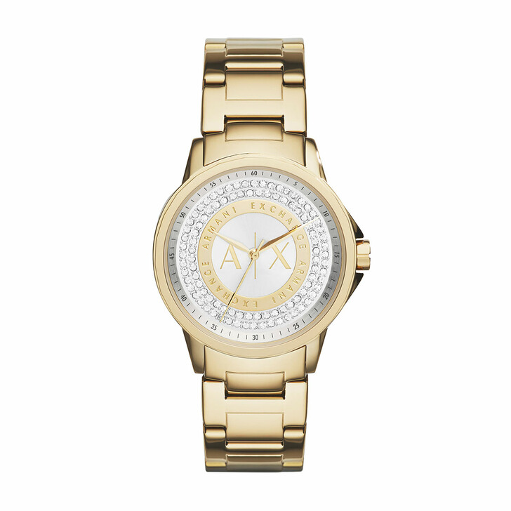 Uhr, Armani Exchange, AX4321 Ladies Lady Banks Watch Gold