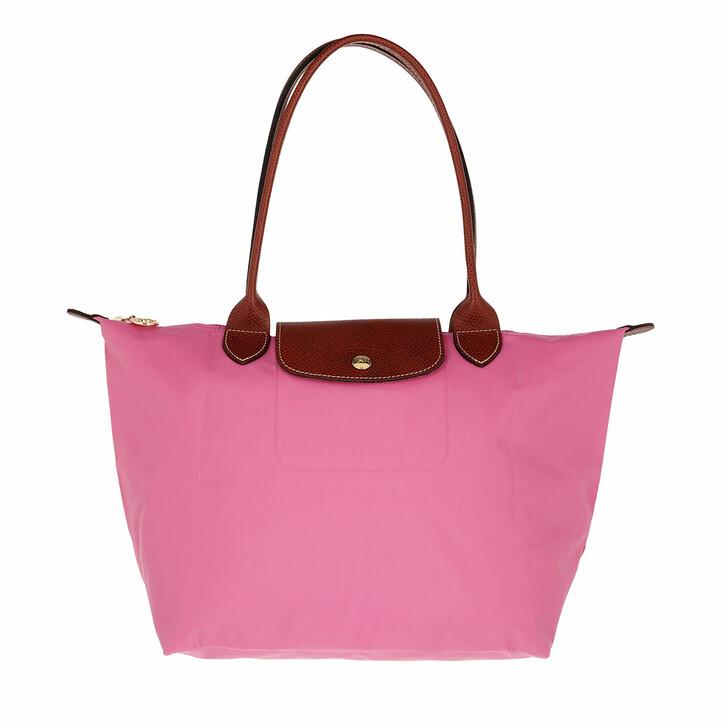 bags, Longchamp, Le Pliage Original Shoulder Bag  Peony