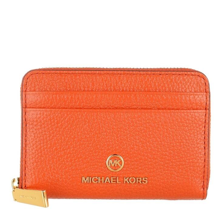 Geldbörse, MICHAEL Michael Kors, Small Za Coin Card  Clementine