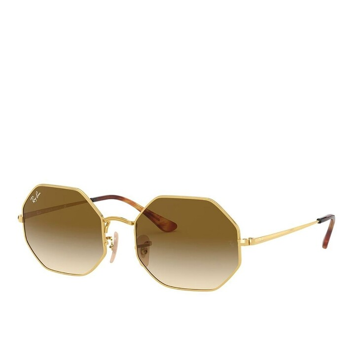 Sonnenbrille, Ray-Ban, Unisex Sunglasses Icons Shape Family 0RB1972 Gold