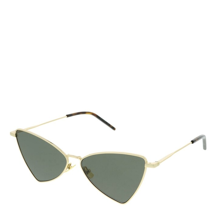 Sonnenbrille, Saint Laurent, SL 303 JERRY-004 58 Sunglass UNISEX META Gold