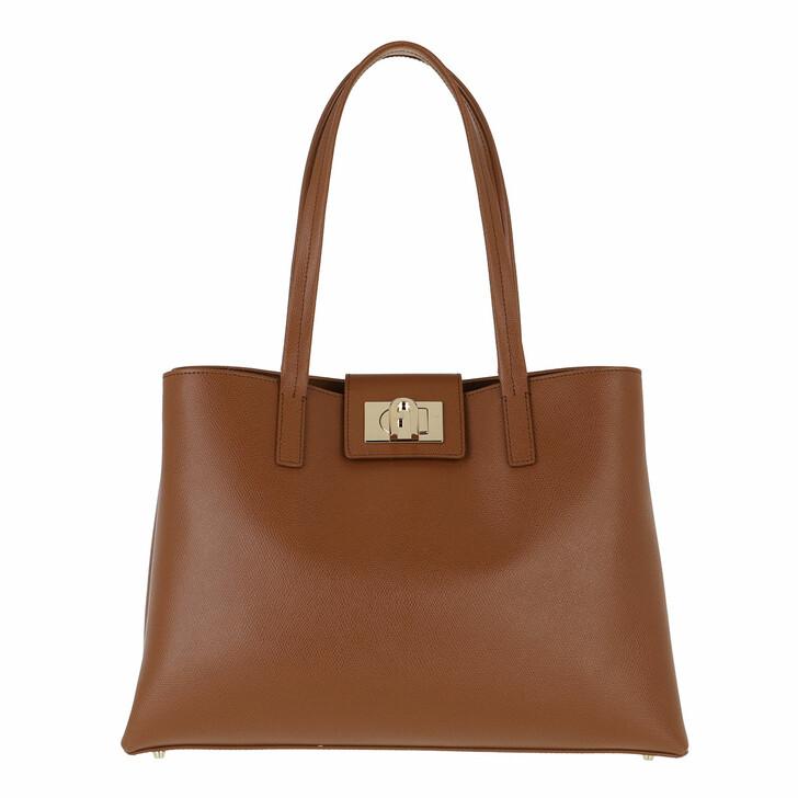 bags, Furla, Furla 1927 L Tote Cognac H