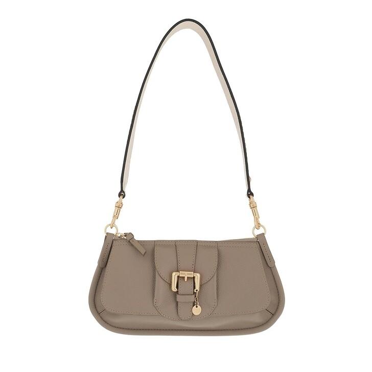 bags, See By Chloé, Zip Up Crossbody Bag Motty Grey