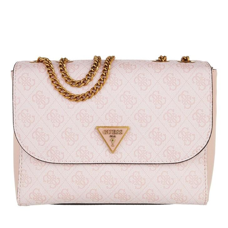 bags, Guess, Cordelia Logo Convertible Xbdy Flap Blush  Logo