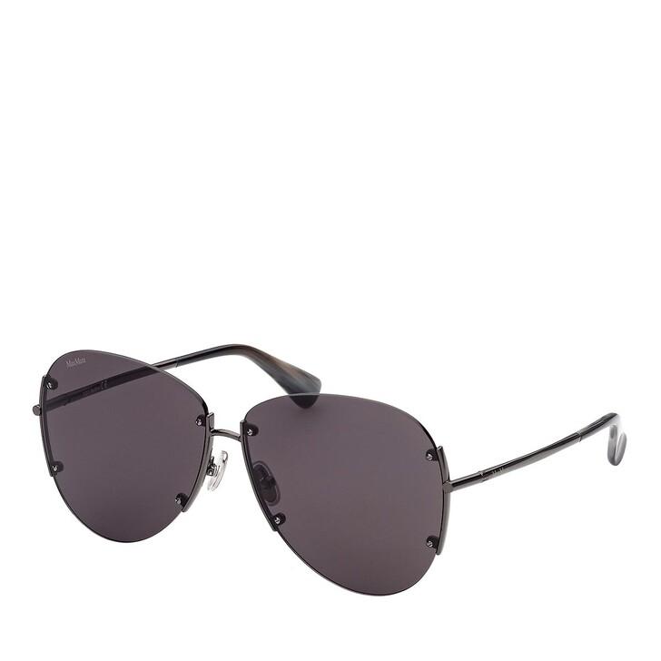 Sonnenbrille, Max Mara, MM0001 Shiny Gunmetal /Smoke