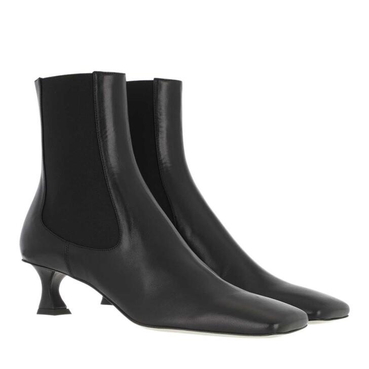Schuh, Proenza Schouler, Heeled Bootie Leather Nero
