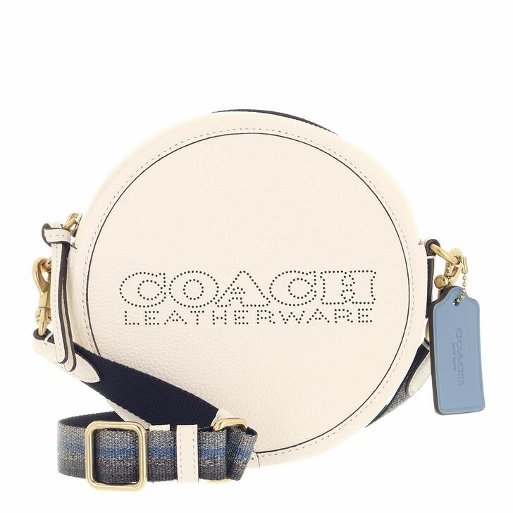 bags, Coach, Colorblock Leather Penn Circle Bag B4/Chalk Multi