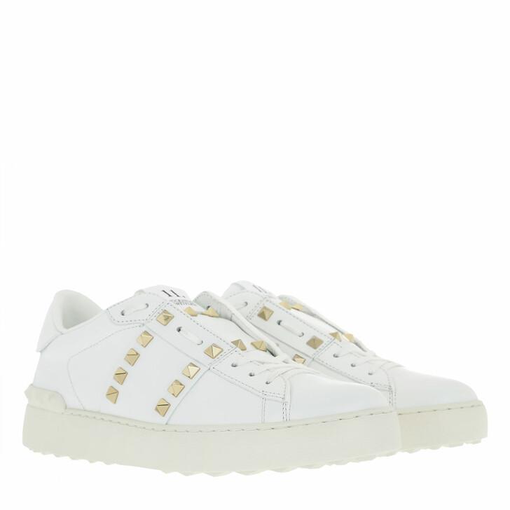 Schuh, Valentino Garavani, Rockstud Untitled Sneaker Bianco