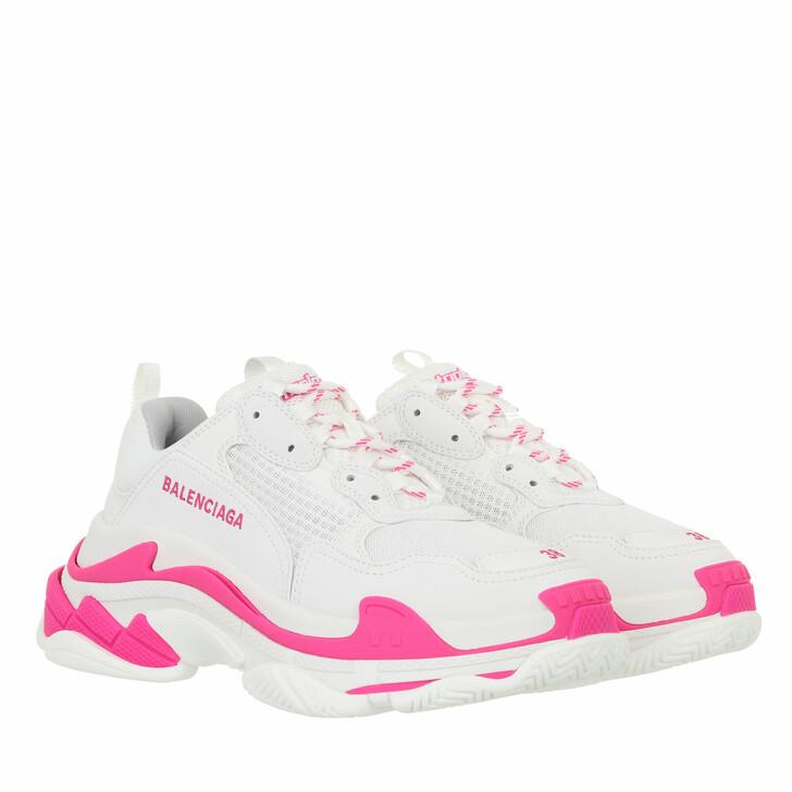 shoes, Balenciaga, Triple S Sneakers Pink/White/Grey