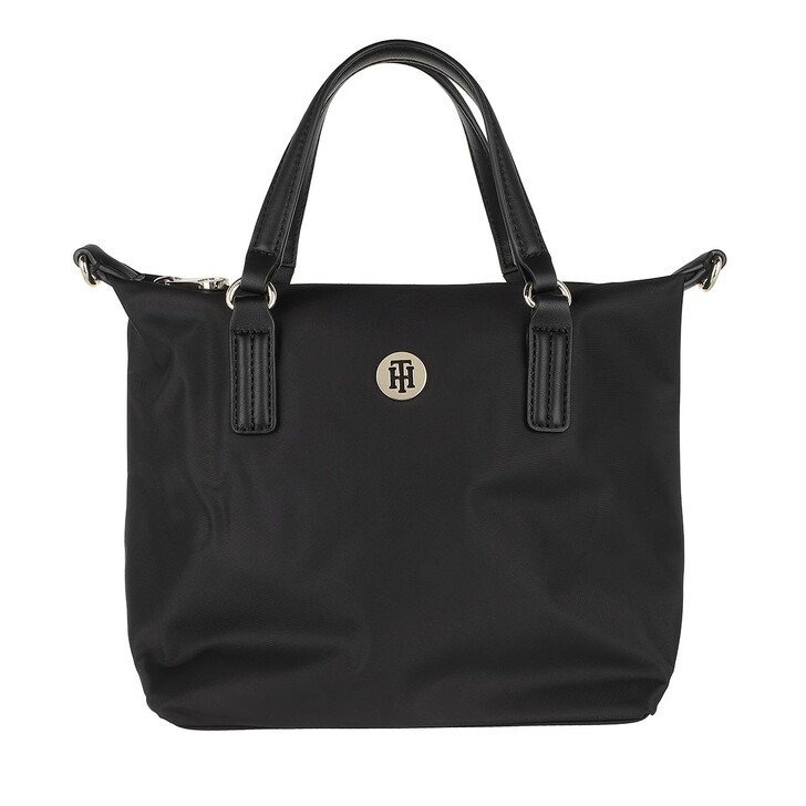 Handtasche, Tommy Hilfiger, Poppy Small Tote Bag Black