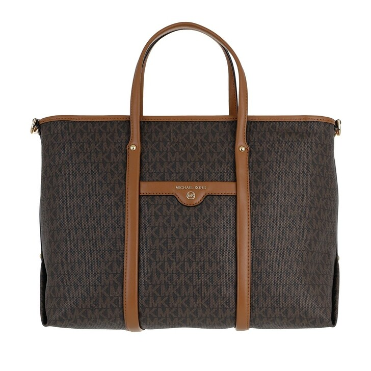 Handtasche, MICHAEL Michael Kors, Beck Medium Convertible Tote Bag Brown/Acorn