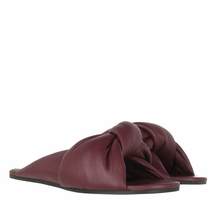 Schuh, Balenciaga, Drapy Sandal Dark Red