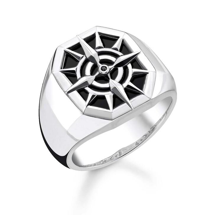 Ring, Thomas Sabo, Ring Compass Black