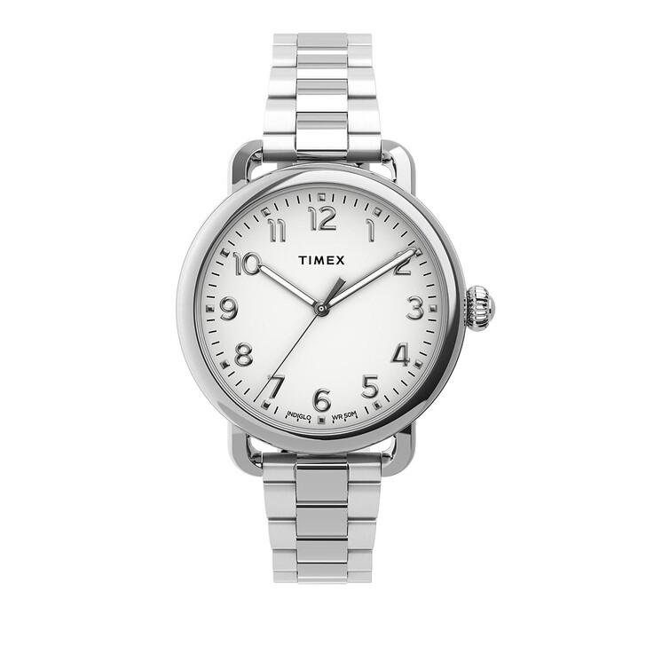 Uhr, Timex, Standard 34mm Silver