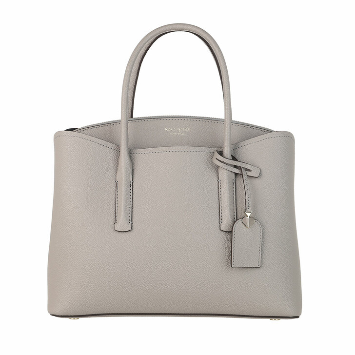 Handtasche, Kate Spade New York, Margaux Large Satchel Bag True Taupe