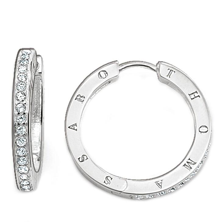 earrings, Thomas Sabo, Hoop Earrings Silver