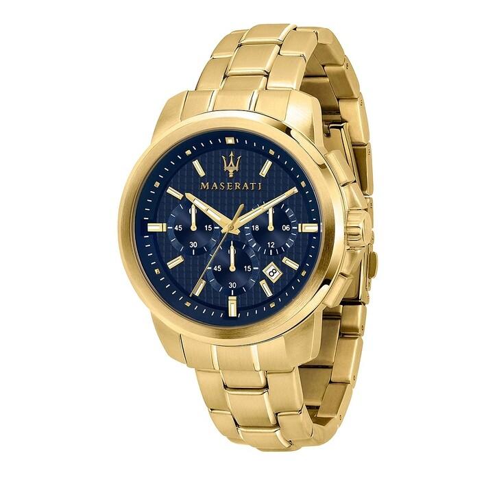 watches, Maserati, Men Watch Successo 44mm Gold