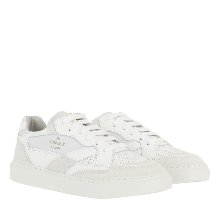 Schuh, Copenhagen, Sneakers Material Mix  White