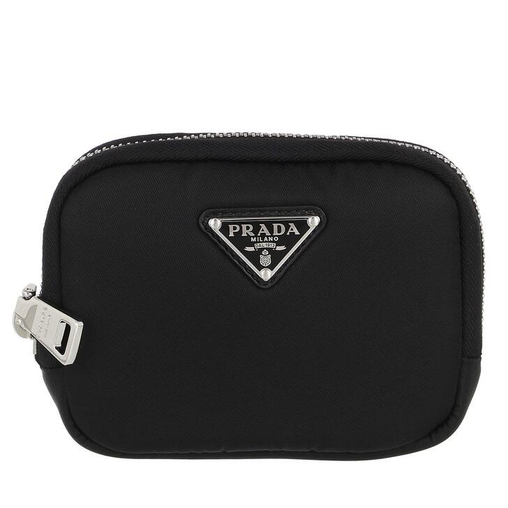 wallets, Prada, Small Zip Wallet Black