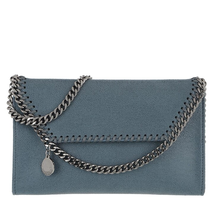 Handtasche, Stella McCartney, Falabella Mini Crossbody Bag Blue