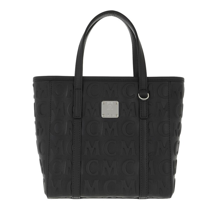Handtasche, MCM, Toni Mcm Mini Lthr Shopper Mini   Black