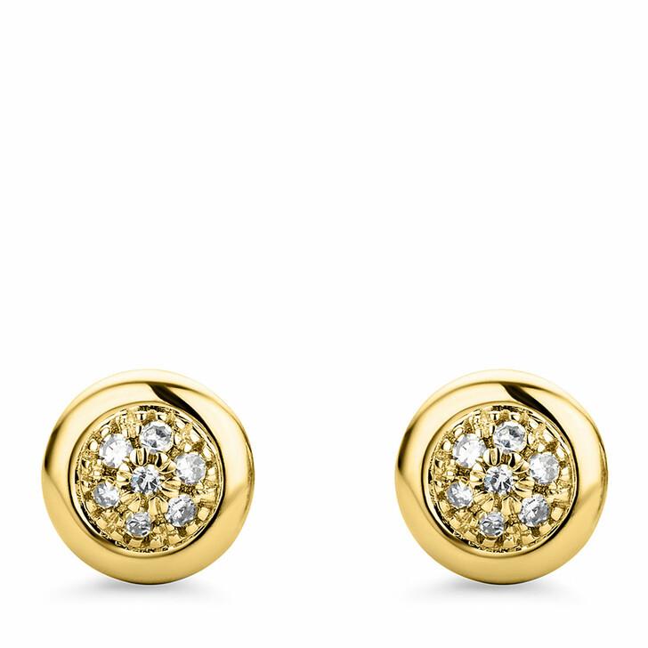 earrings, DIAMADA, 9KT (375) Earrings Yellow Gold